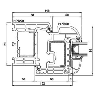 PVC дограма БРЮГМАН - технически характеристики