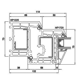 PVC дограма БРЮГМАН - технически характеристики 2